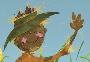 scarecrow in photoshop
