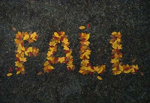 autumn text effect in Photoshop