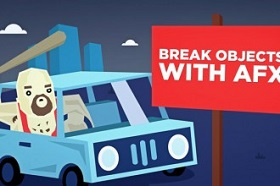 breaking objects Illustrator & After Effect