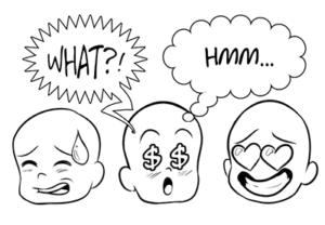 comics bubble in Illustrator