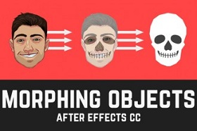 morph png in After Effects