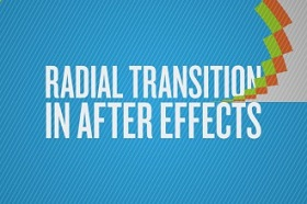 radial transition in After Effects