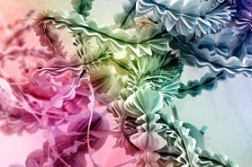 abstract image in cinema 4d