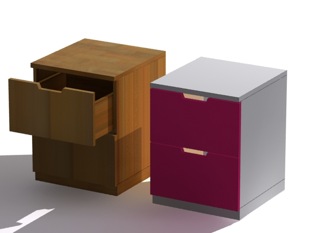 Drawers Objects 3d Free download