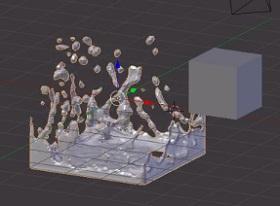 Fluid Simulation in Blender