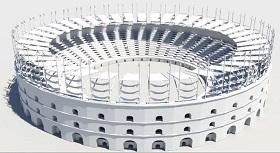 model a Gladiator Arena in Maya