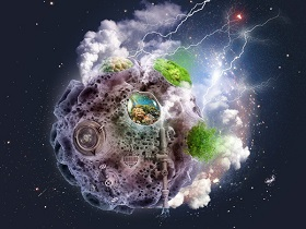 Mini Planet in Adobe Photoshop