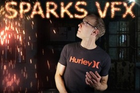 Particle Spark in After Effects
