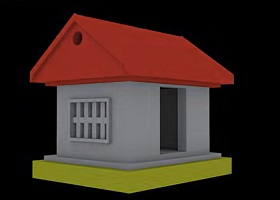 Simple House Modeling in 3ds Max