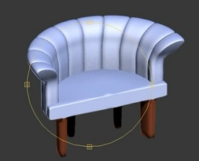 Make a Sofa Chair in 3ds Max