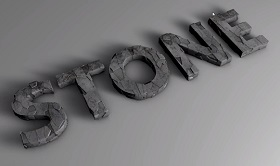 Realistic Stone Text in Cinema 4D
