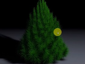Create a Christmas Tree in Cinema 4D