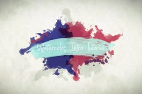 Create Animated Water Color and Pain in After Effects
