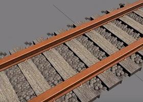 Make Rail Line/Road in Autodesk 3ds Max
