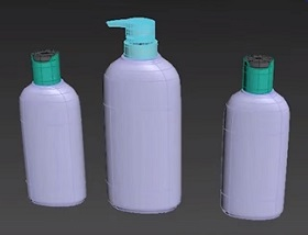 Modeling 3d Product Bottle in 3ds Max