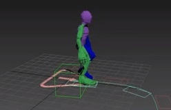 CAT Motion Layer Tools in 3DS Max