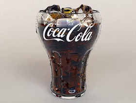Create Glass of Coca-Cola & Water Drops in 3ds Max