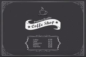 Design for Coffee Shop In Adobe Illustrator