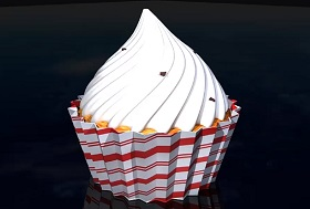 Modeling a Cup Cake in Autodesk Maya