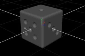 Create a Dice with Autodesk Maya in 2 Minutes