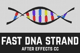 Create Strand DNA Animation in After Effects