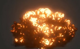 realistic explosion in 3ds Max with FumeFX