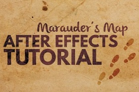 Create Footsteps Map Effect In After Effects