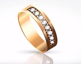 Create a Glittering Ring in Adobe Illustrator