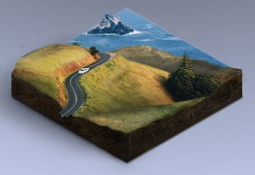 Turn a Landscape Photo into an Isometric Icon in Photoshop