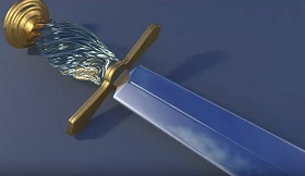Modeling a Twisted Sword Handle in Maya