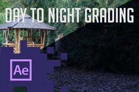 Day to Night Transform in Adobe After Effects
