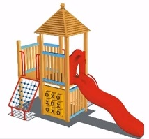 Modeling Children's Play Park in 3ds Max