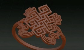 Create Jewerly Ring using Alpha in ZBrush