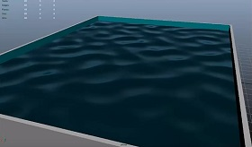 Using the Ocean Shades in Autodesk Maya