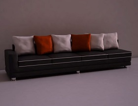 Modeling a Realistic Sofa and Pillow in 3ds Max