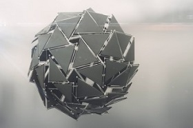 Create Sci-Fi Sphere Assembly with Houdini and After effects