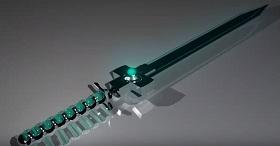 model a Sci-Fi Sword in Maya