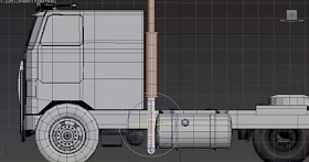 Modeling Detailed Truck in Autodesk 3ds Max