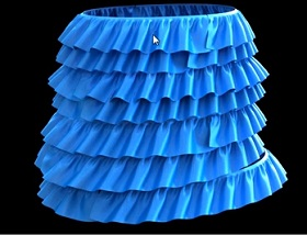 Cloth Ruffles Modeling in Autodesk 3ds Max