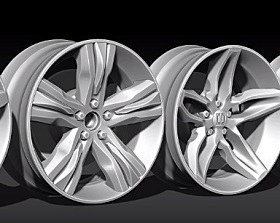 Fast Method 3D Wheel Ideation in ZBrush