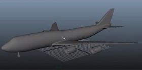 Modeling Basics Air Plane in Autodesk Maya