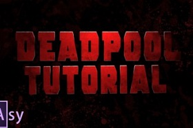 Recreating Deadpool Intro in Adobe After Effects