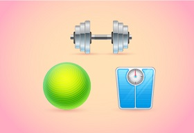 Create a Set of Fitness Icons in Adobe Illustrator