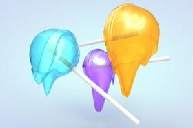 Melting a Lollipop using Jiggle Deformer in Cinema 4D