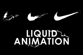 Nike Logo Liquid Reveal Animation in After Effects