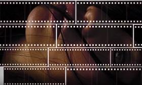 Film Strip Photo Collage Portrait in Adobe Photoshop