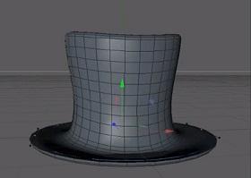 Modeling a Top Hat in Maxon Cinema 4D