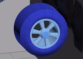 Toy Car Wheel Modeling in Autodesk 3ds Max