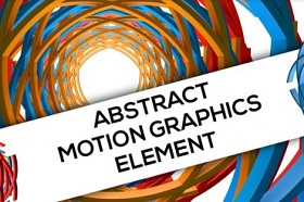 Create Abstract Motion Graphic Elements in Cinema 4D