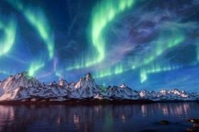 Create Aurora Borealis in Blender